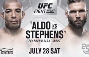 Jose Aldo, Jeremy Stephens, UFC On Fox
