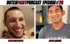 Dutch Fight Podcast - Episode 26 - Reinier de Ridder & Aung La NSang