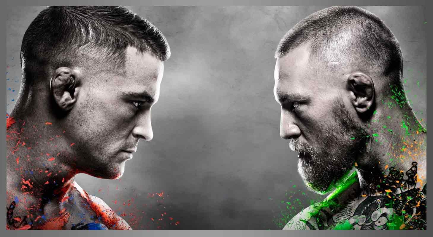 UFC 257- McGregor vs Porier Cover