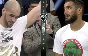 Yousri Belgaroui wint zijn MMA debut bij UAE Warriors 16