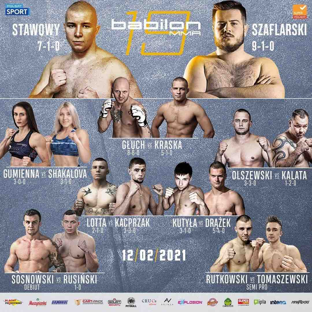 Babilon 19 Full Fight Card
