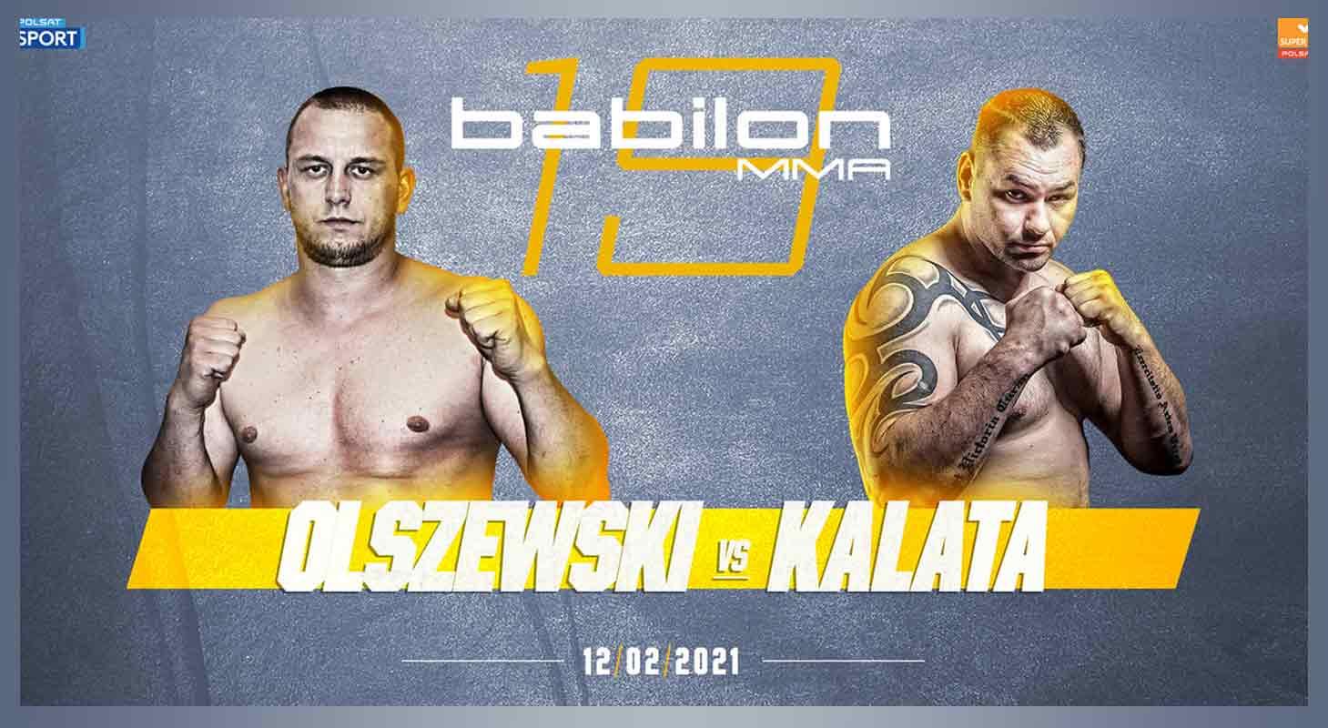 Combat Brother Damian Olszewski vecht op 12 Februari in Polen