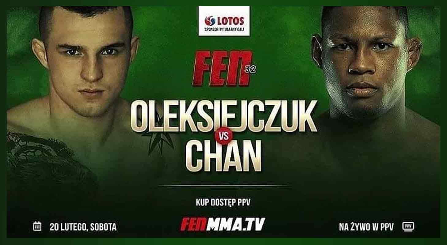 Djamil Chan vs Cezary Oleksiejczuk Poster