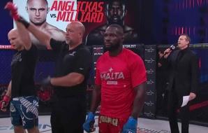 Arubaan Gregory Milliard verliest zijn debuut bij Bellator MMA
