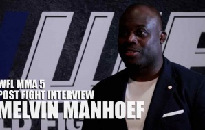 WFL MMA 5 - Post Fight Interview - Melvin Manhoef