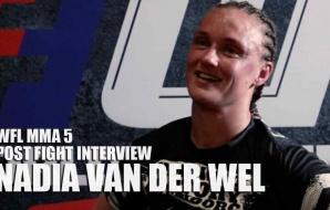 WFL MMA 5 - Post Fight Interview - Nadia van der Wel