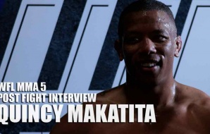 WFL MMA 5 - Post Fight Interview - Quincy Makatita