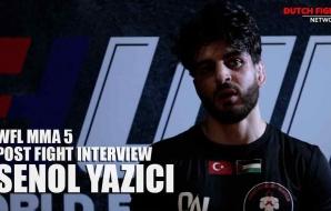 WFL MMA 5 - Post Fight Interview - Senol Yazici