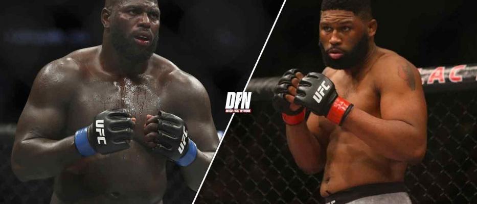 Jairzinho Rozenstruik vs Curtis Blaydes is officieel voor UFC 266