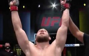 Marcin Prachnio pakt zijn 2de winst in de UFC