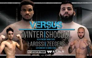Versus 1 Poster - Winter vs Shouddi