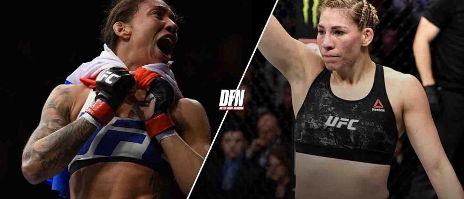 Germaine de Randamie neemt het op tegen Aldana op UFC 268