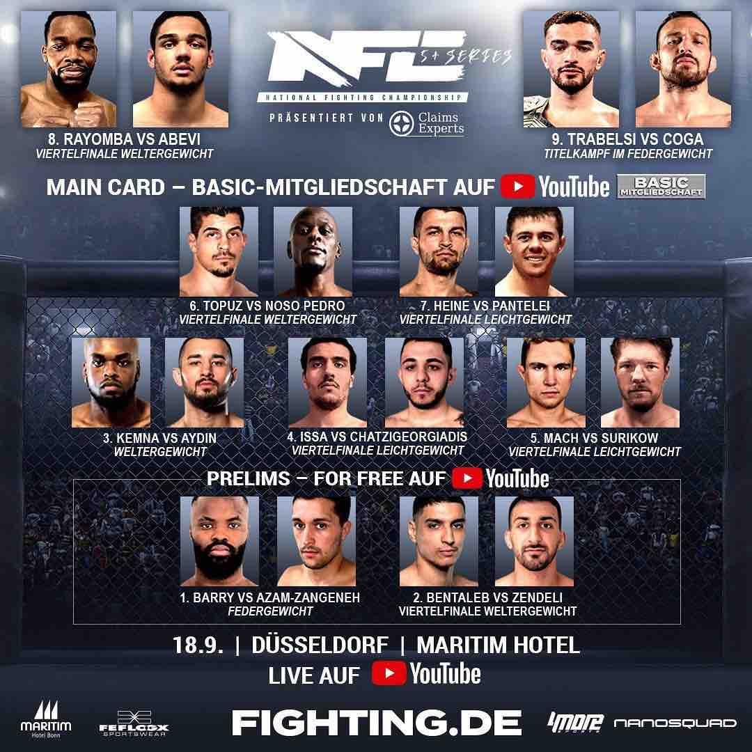 NFC Play Offs Fight card
