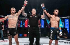 Jarno Errens vecht bij UAE Warriors een Split Draw